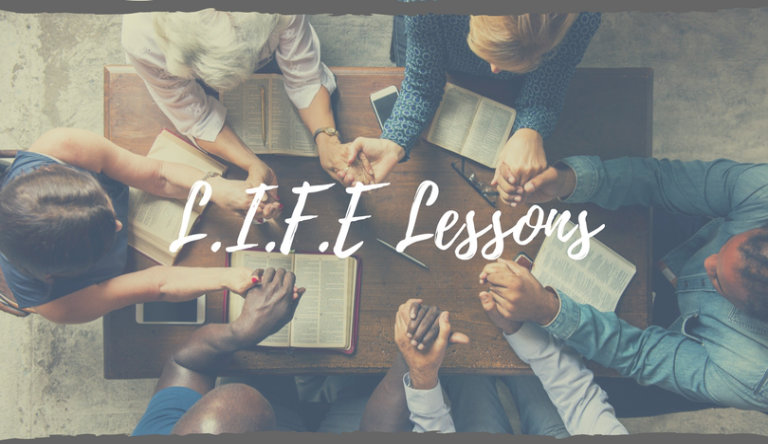 LIFE Lessons Events Page