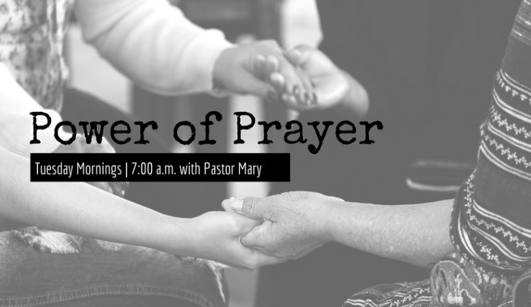 Prayer Events Page
